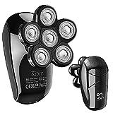 Head Shaver for Men, Kibiy 5-in-1 Electric Razor for...