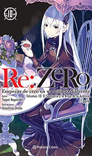 Re:Zero nº 10 (novela): Empezar de cero en un mundo diferente. Volumen 10: El santuario y la bruja de la avaricia. 1ª parte (Manga Novelas (Light Novels))