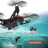 Dounan Drone para Iniciantes,ThiEYE Dr.X 1080 P Câmera de 8MP Wifi FPV Drone Altitude Hold Posicionamento De Fluxo Óptico App Controle 360 ° Tiro Selfie Quadcopter para Crianças Iniciantes