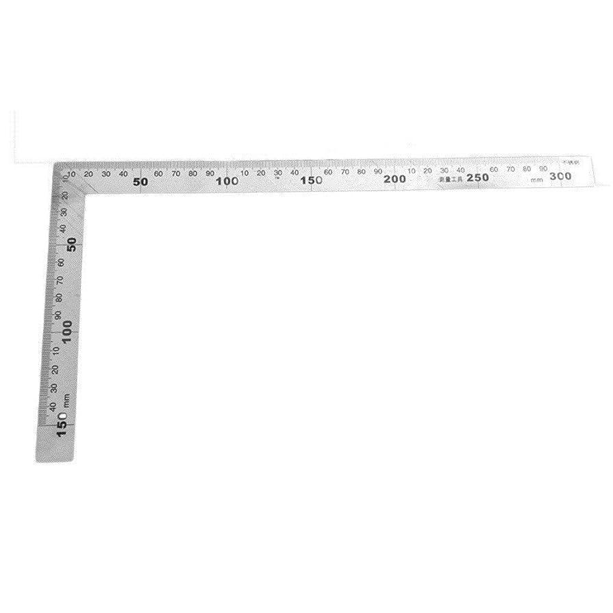 持参ゆりかごタワーステンレススチールメトリックトライスクエア定規エンジニアトライスクエアセット測定ツール直角90度スタイリッシュで 操作簡単です
