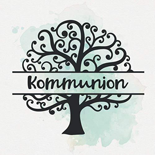 Kommunion: Geschenk zur Kommunion | Gästebuch zum selbst ausfüllen | Gästebuch zum eintragen mit...