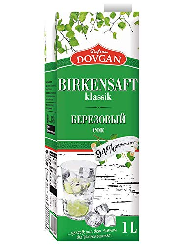 Dovgan Birkensaft klassik 15x 1L