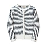 Hope & Henry Girls' Long Sleeve Pointelle Cardigan Sweater