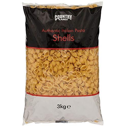 Country Range Italian Conchiglie Pasta Shells - 1x3kg Bag