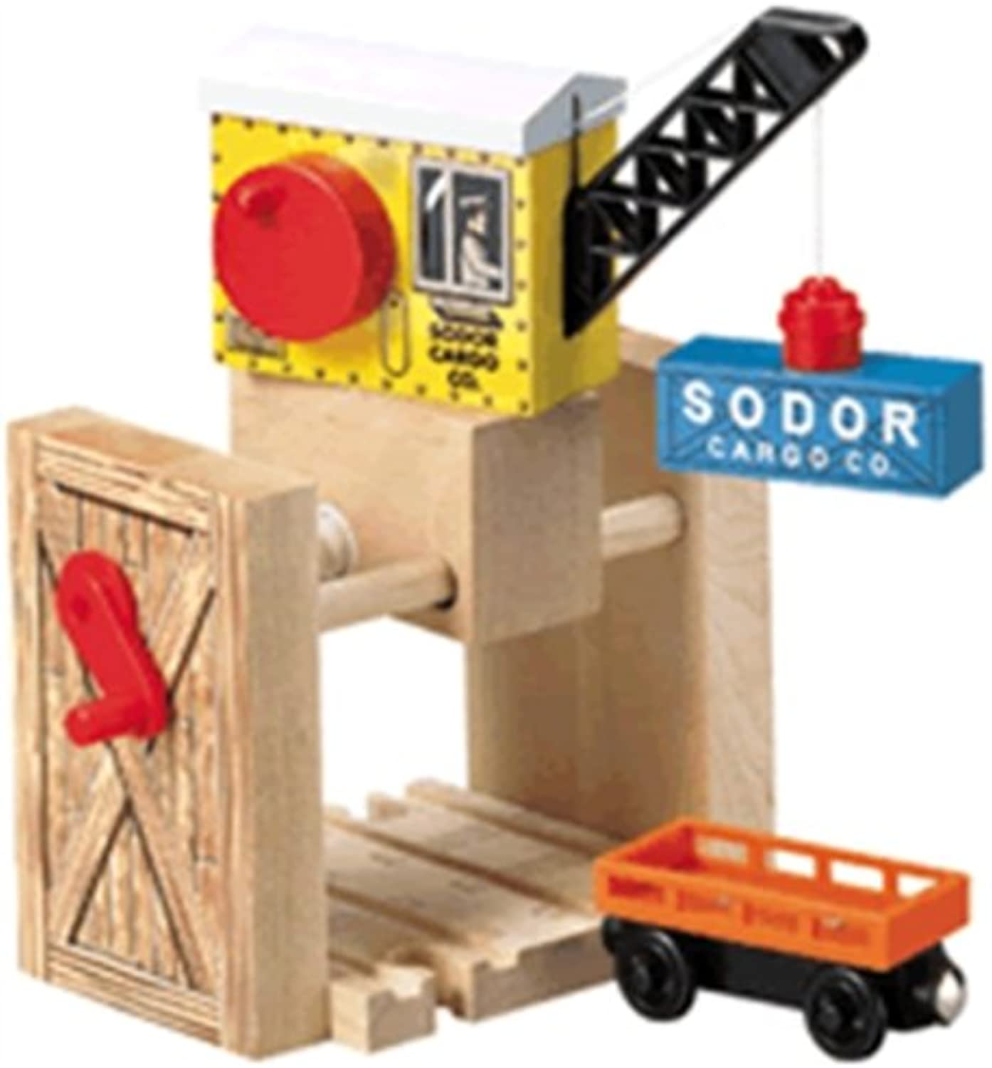 Thomas the Tank Engine & Friends Wooden Railway  Sodor Cargo Crane  LC99321
