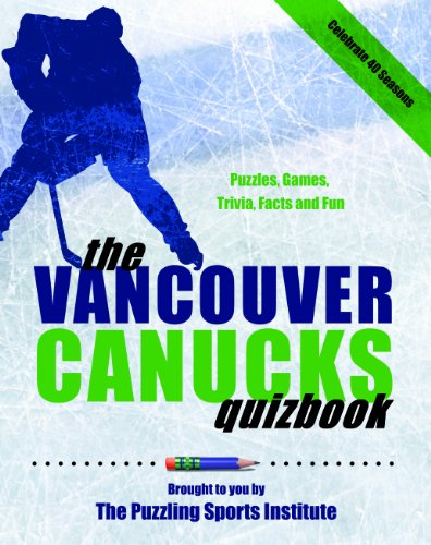 Vancouver Canucks Quizbook: Second Edition