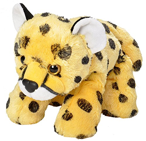 Wild Republic Cheetah Plush, Stuffed Animal, Plush Toy, Gifts for Kids, Hug'EMS 10'