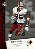 2006 Upper Deck Rookie Debut #98 Clinton Portis NFL Football Trading Card. rookie card picture