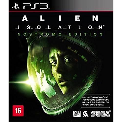 Game Ps3 Alien Isolation Nostromo Edition