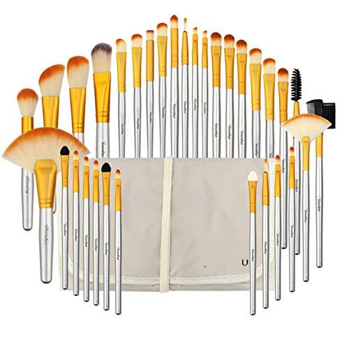 32pcs/Set Makeup Brush, Foundation, Eyeshadow, Lipstick, Powder, Makeup Brush Tool Bag Pincel Maquiagem Set