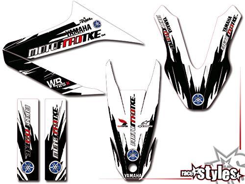 Yamaha WR 125 X Full!!! Premium streetline DEKOR Decals Sticker Aufkleber KIT 09-17
