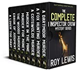 THE COMPLETE INSPECTOR CROW MYSTERY SERIES eight gripping crime thrillers box set (English Edition)