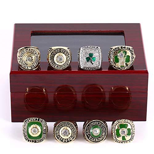 KHHK NBA Boston Celtics Championship Ring Europe e America 3D Diamond Bling Rings 8Pcs