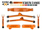 xj long arm lift kit - Jeep Cherokee (1986-2001) Full Heavy Duty Long Arm Upgrade TIER THREE, Bare Metal & Disassembled LIFETIME REPLACEMENT GUARANTEE