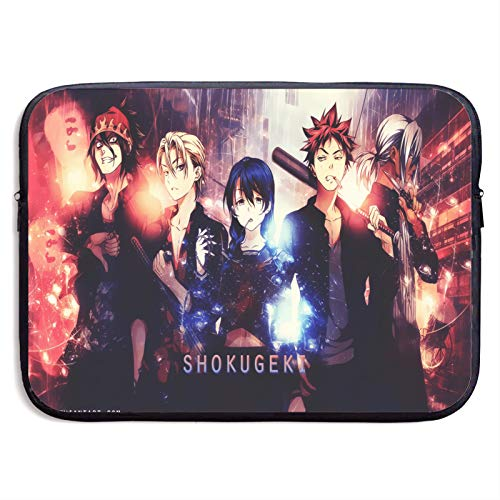 Laptop Sleeve Case Food Wars Resistant Neoprene Notebook Computer Pocket for 13-15 Inch MacBook Pro/MacBook Air/Notebook Computer
