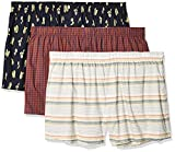 Amazon Brand - Goodthreads Men's 3-Pack Stretch Woven Boxer Shorts