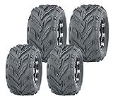 Set 4 WANDA Go Kart tires 145/70-6 145X70X6 & 16X8-7 16X8X7 4PR