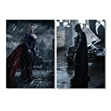 Batman v Superman Plakat A1 2er Sets / 7+8