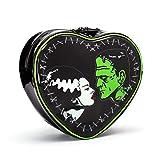 Rock Rebel Bride of Frankenstein & Frankenstein Heart Shaped Backpack