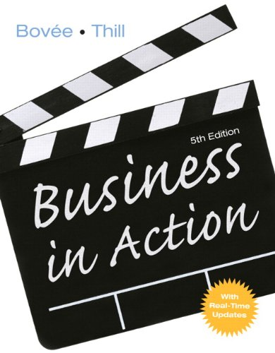 Business in Action: With Real-time Updates (mybizlab)