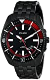 Pulsar Men's PS9321 Analog Display Japanese Quartz Black Watch