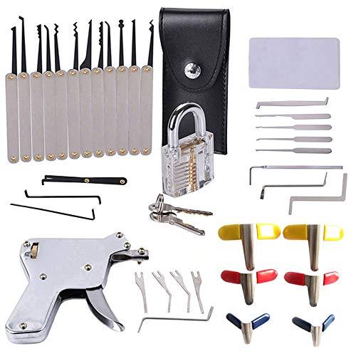 Leistungsstarke Lockpicking-Set, Enthält alle benötigten Werkzeuge Geeignet für Schlosser-Anfänger und Schlosser-Liebhaber.