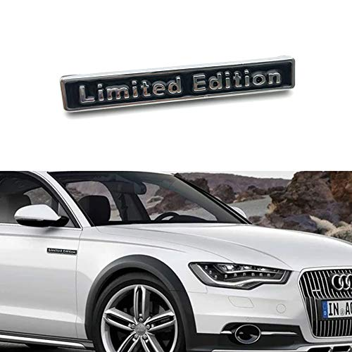 Limited edition metal car logo for Audi Tt A3 A4 A5 A6 A7 A8 Q3 Q5 Q7 S4 S6 S5 Rs5