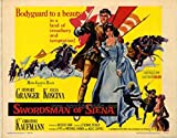 Swordsman of Siena Movie Poster (68,58 x 101,60 cm)