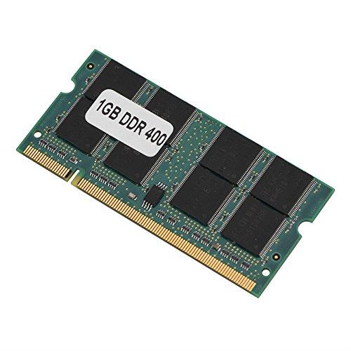 RAM per laptop DDR, 200 pin Mini DDR1 di alta qualità da 1 GB 400 MHz con memoria RAM PC3200, adatta per laptop con memoria PC3200 DDR1 400, offre prestazioni migliori e consumi ridotti