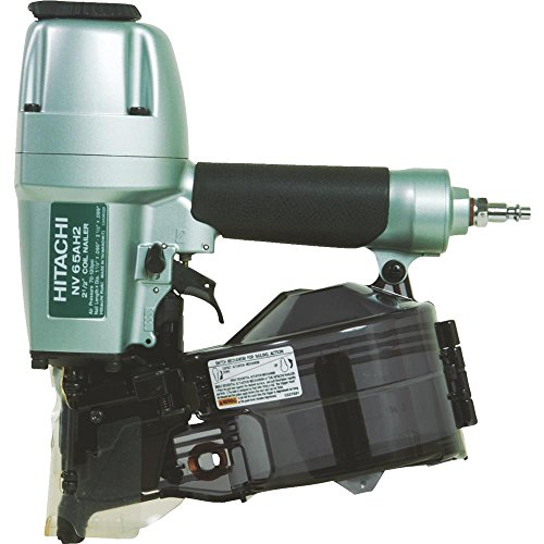 Hitachi Coil Siding Nailer, Siding Nails 1-1/2 inch To 2-1/2 inch, Side load, Tilt Bottom Magazine (NV65AH2)