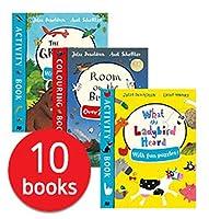 Julia Donaldson Activity Book x 10 Books (Shrinkwrap)
