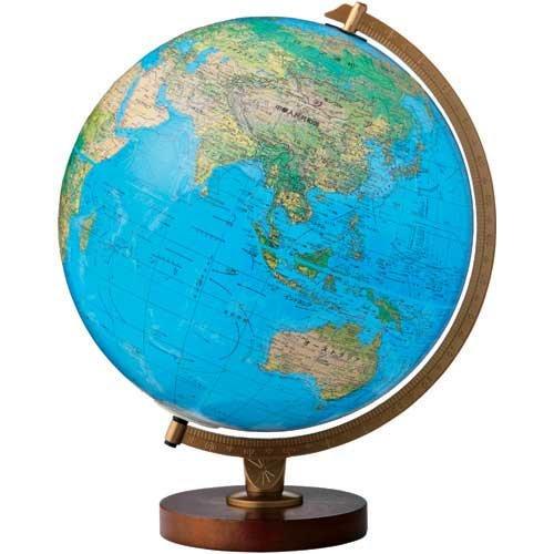 リプルーグル 地球儀 リビングストン 和文 86578 行政型