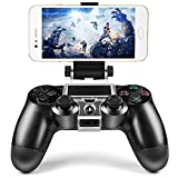 PS4 Wireless Controller Phone Clip Holder Clamp Mount Stand for PlayStation