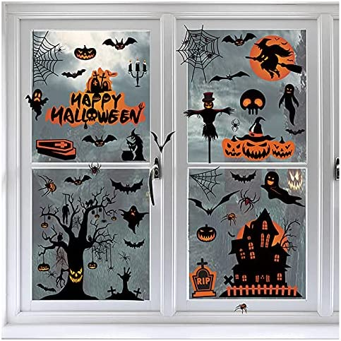 Halloween Genuine Free Shipping Window Clings 98 Special Campaign Windows PCS Decorationsï¼