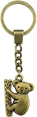 Amazon.com: Eaglers Llavero Metal Dalaful Simple Flame Key ...