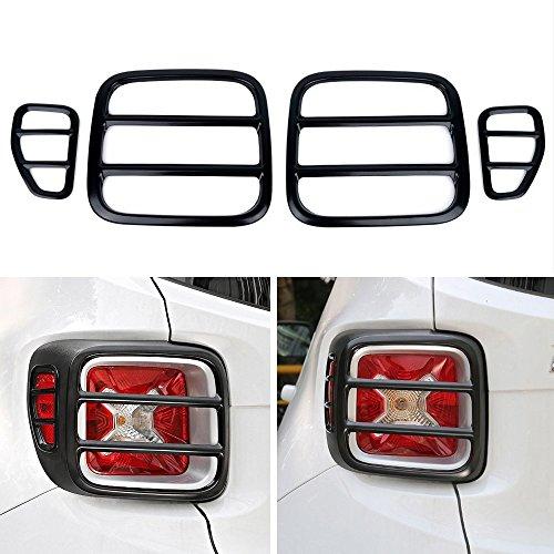 i-Shop - Set di 4 protezioni in metallo per fanale posteriore
