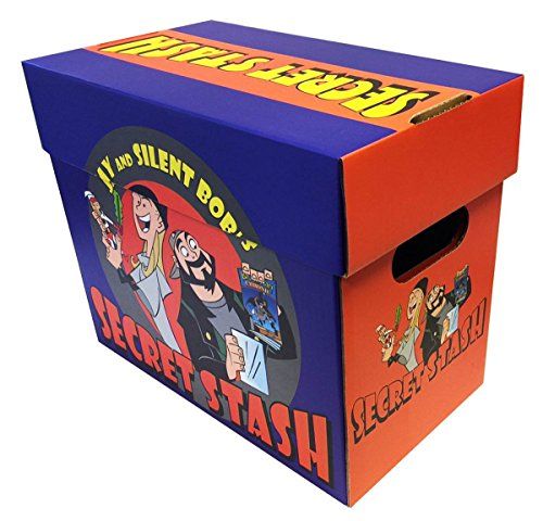 Jay and Silent Box Secret Stash - Officially Licensed SHORT COMIC Storage Box