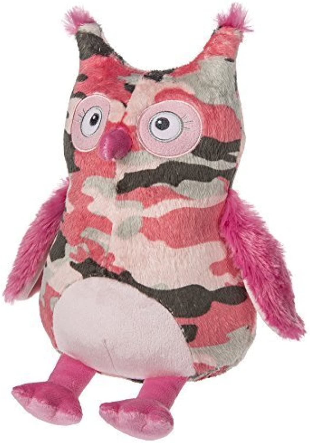 Mary Meyer Pink Camo Owl Plush Toy by Mary Meyer