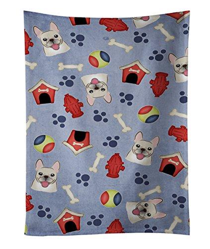 tesori dell' Caroline BB4017KTWL Dog House Collection French Bulldog cucina asciugamano 63,5x 38,1cm, multicolore
