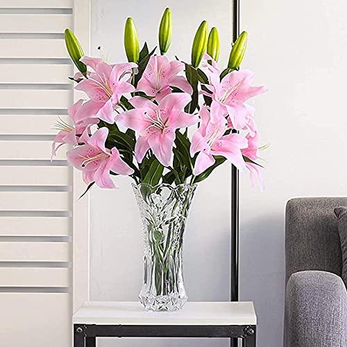Flores Artificiales Largas Decoración flores artificiales  Marca ZEACCT