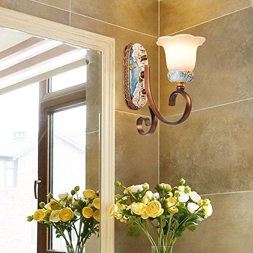 JJZHG Wandlamp Indoor Wandlamp Badkamer spiegel koplamp badkamer wandlamp spiegel kast licht retro badkamer lamp make-up lamp licht omvat: wandlampen, wandlamp met leeslampje