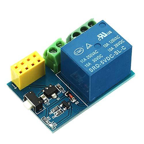 DIY Reemplace los accesorios ESP8266 ESP01S ESP01 S WiFi Módulo de relé de 5V ESP01S ESP01S Cosas hogar inteligente de control remoto del interruptor de teléfono APP (no hay ESP01S)