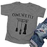 Come We Fly Halloween T-Shirt Baby Boys Girls...