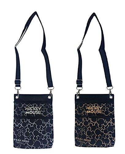 Disney Mickey Mouse Cross Body Shoulder Bag/Passport/Case
