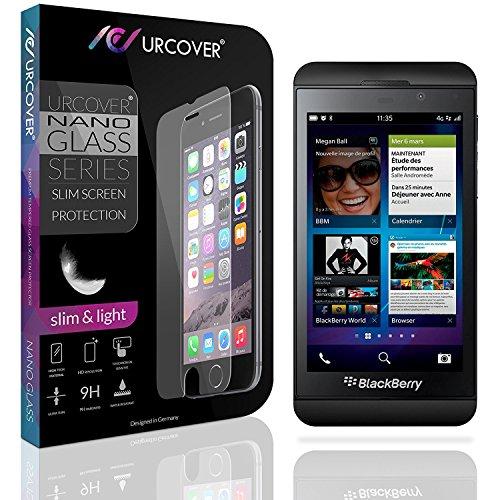 Urcover® 9H Festigkeitgrad Echt Glas Folie kompatibel mit BlackBerry Z10 Bildschirmschutzfolie Panzerfolie Schutzfolie