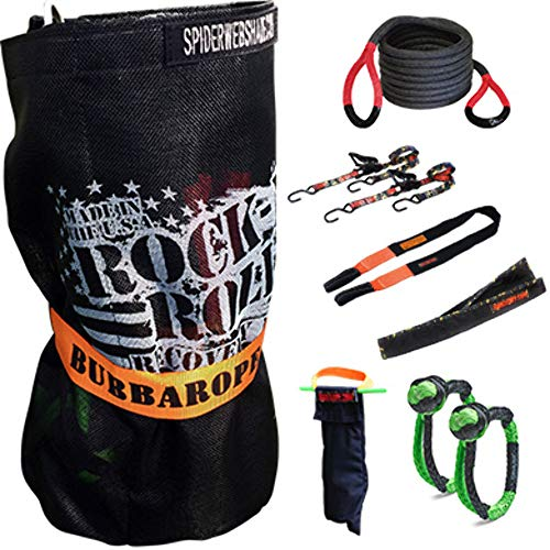 Bubba Rope 251629 Rock-N-Roll Recovery Kit