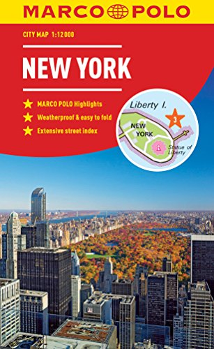 Marco Polo New York City Map (Marco Polo City Maps)