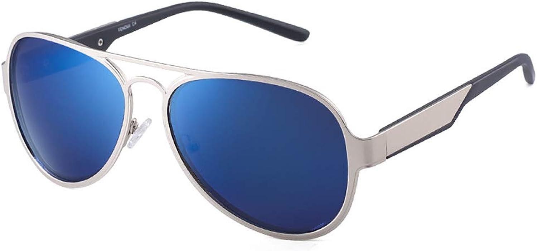 Fashion Trend Sunglasses, Unisex Polarized Glasses Vintage Full Frame Sunglasses
