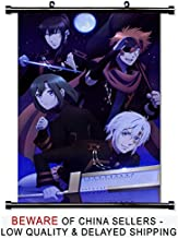 D Gray Man Hallow Anime Fabric Wall Scroll Poster (16x24) Inches