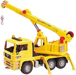 Bruder BRU02754 MAN TGA Crane Truck Yellow